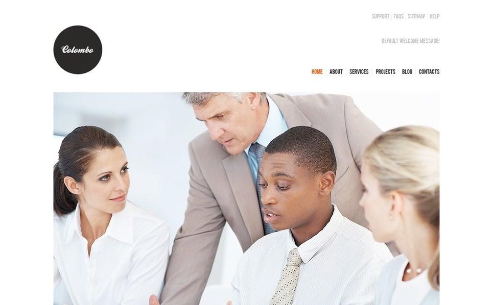 Szablon Joomla #38143 na temat: biznes i usługi New Screenshots BIG