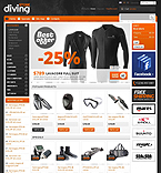 Sport PrestaShop Template 38147