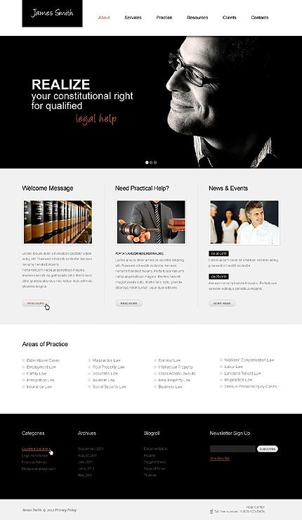 PSD макет сайта №38153