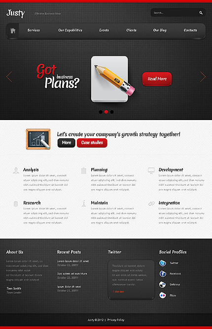Joomla Theme/Template 38168 Main Page Screenshot