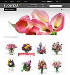 Flowers PrestaShop Template 38181
