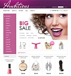 Beauty VirtueMart  Template 38185
