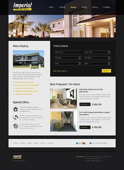 Template 38189 ( Buying Page ) ADOBE Photoshop Screenshot