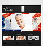 Politics Website  Template 38194