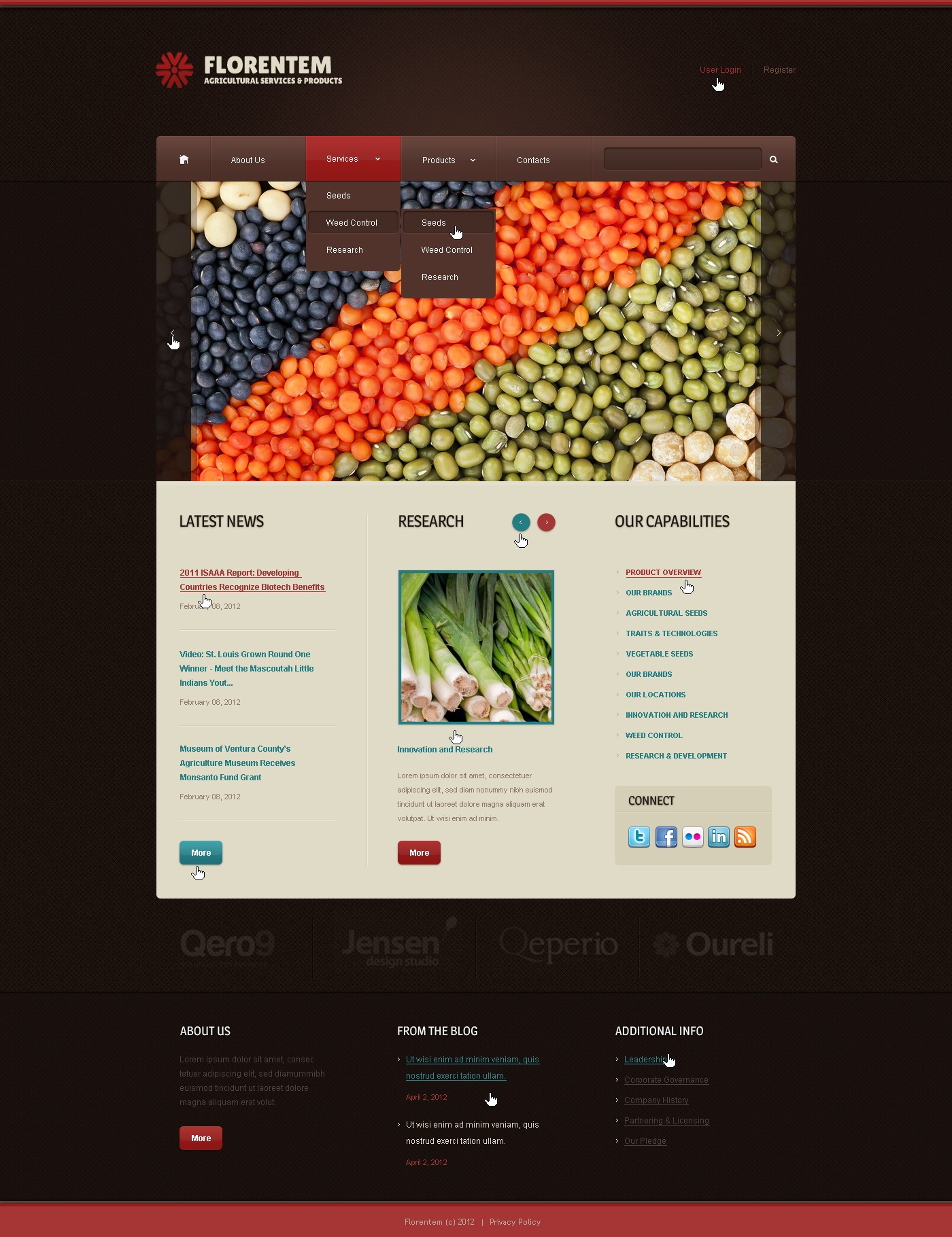 Agriculture WordPress Theme - screenshot