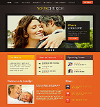 Religious Website  Template 38200