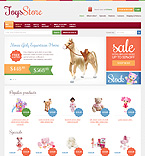 Entertainment osCommerce  Template 38203