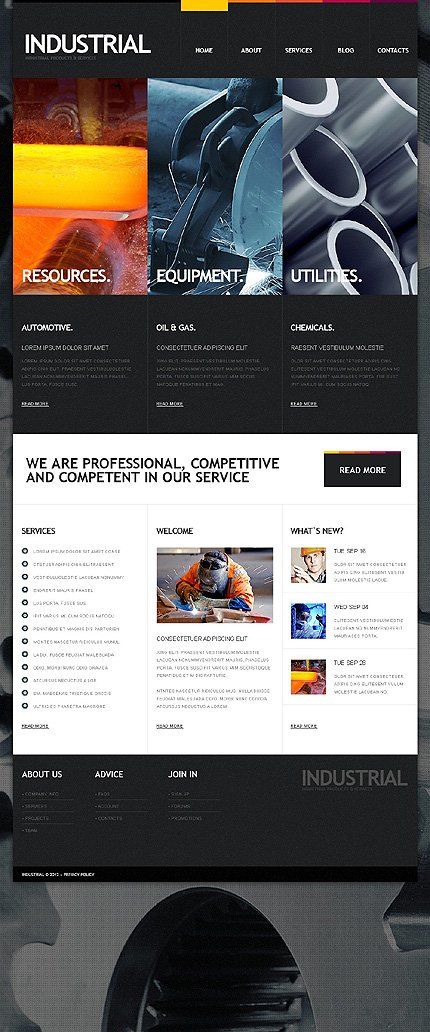 Drupal Template 38204 Main Page Screenshot