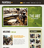 Sport Website  Template 38209