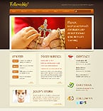 Religious Website  Template 38217