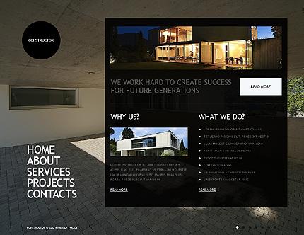 Template 38225 ( Home Page ) ADOBE Photoshop Screenshot