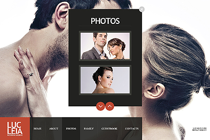 Template 38226 ( Photos Page ) ADOBE Photoshop Screenshot