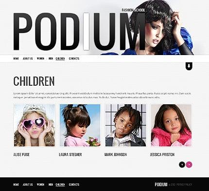 Template 38227 ( Children Page ) ADOBE Photoshop Screenshot