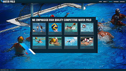 Template 38229 ( Events Page ) ADOBE Photoshop Screenshot
