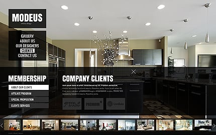 Template 38230 ( Clients Page ) ADOBE Photoshop Screenshot