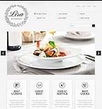 Cafe & Restaurant Joomla  Template 38242