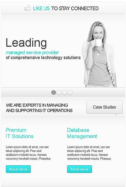 ADOBE Photoshop Template 38245 Home Page Screenshot