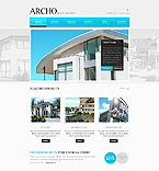 Architecture Website  Template 38267
