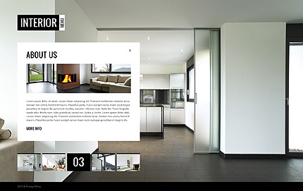 Template 38273 ( About Us Page ) ADOBE Photoshop Screenshot