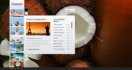 Template 38274 ( Packages Page ) ADOBE Photoshop Screenshot