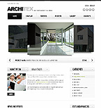 Architecture Website  Template 38283