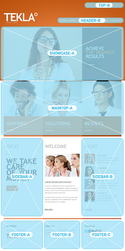 Joomla Theme/Template 38294 Main Page Screenshot