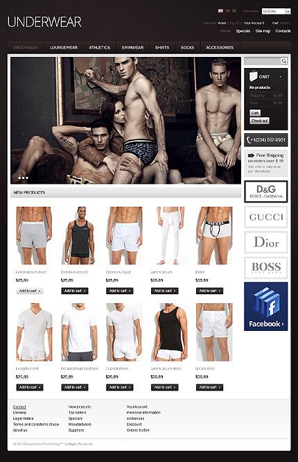 ADOBE Photoshop Template 38299 Home Page Screenshot
