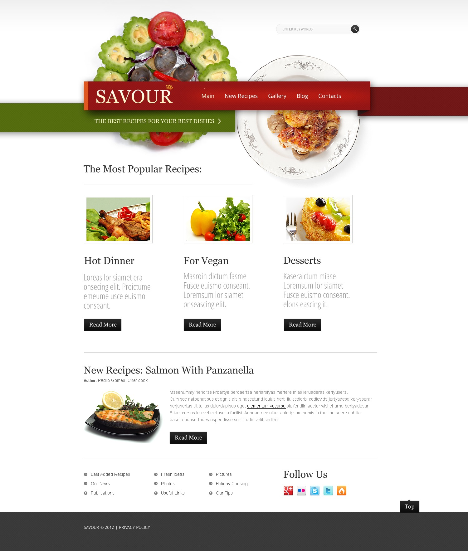 Cooking joomla template 38202 cooking joomla template forumfinder Images