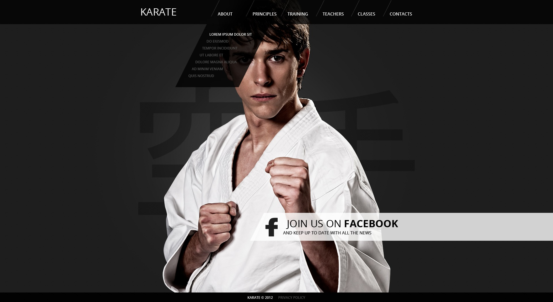 Karate dating site