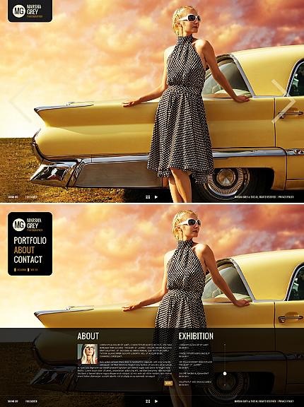 ADOBE Photoshop Template 38305 Home Page Screenshot