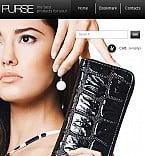 Fashion Facebook Flash CMS  Template 38308