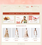 Wedding VirtueMart  Template 38310