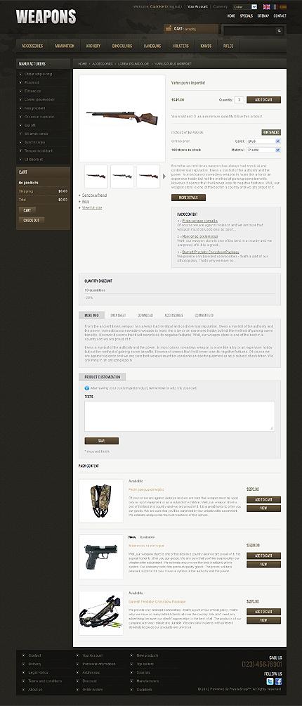 ADOBE Photoshop Template 38311 Home Page Screenshot