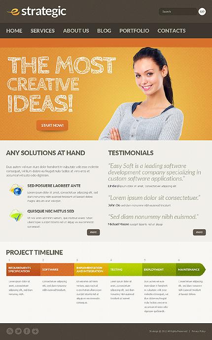 Drupal Template 38314 Main Page Screenshot