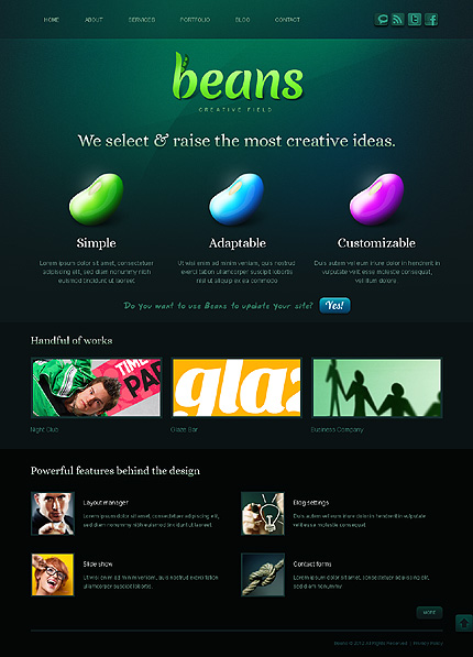 Drupal Template 38333 Main Page Screenshot