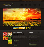 Agriculture Website  Template 38336