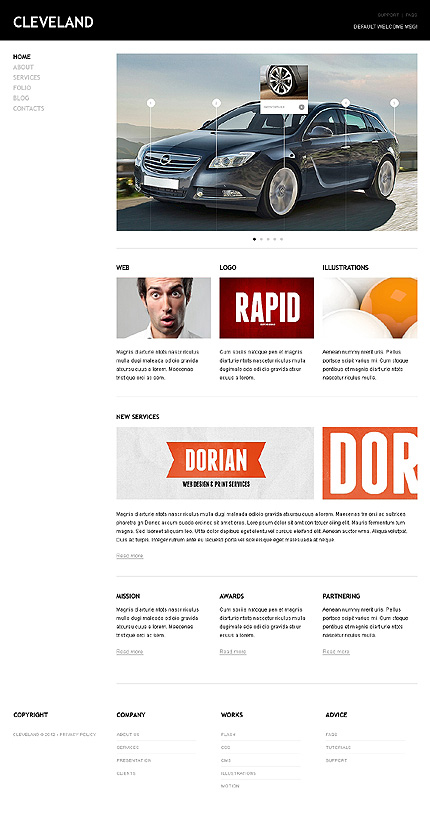 Joomla Theme/Template 38339 Main Page Screenshot