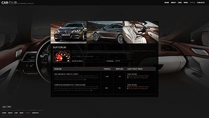 Template 38362 ( Forum Page ) ADOBE Photoshop Screenshot