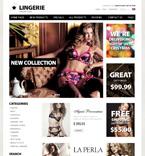 Fashion ZenCart  Template 38364