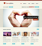 Charity Website  Template 38375