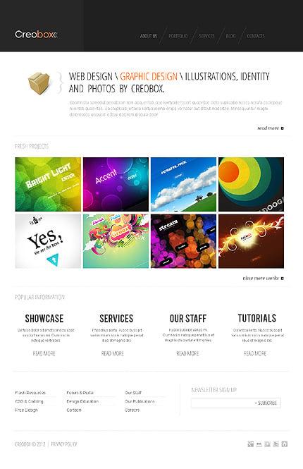 Joomla Theme/Template 38387 Main Page Screenshot