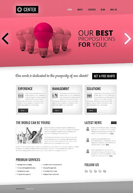 Joomla Theme/Template 38392 Main Page Screenshot