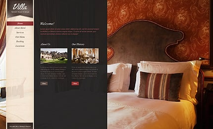 Template 38394 ( Home Page ) ADOBE Photoshop Screenshot
