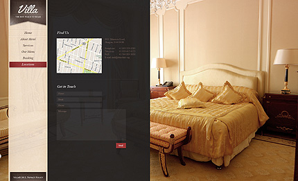 Template 38394 ( Locations Page ) ADOBE Photoshop Screenshot