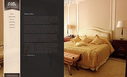 Template 38394 ( Privacy Policy Page ) ADOBE Photoshop Screenshot