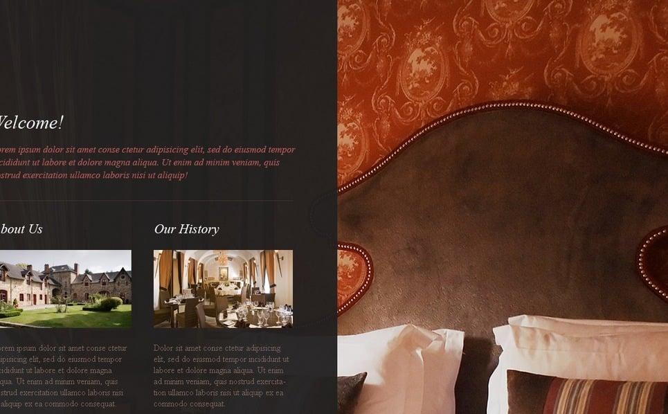 酒店网站网页模板 New Screenshots BIG