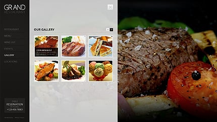 Template 38395 ( Gallery Page ) ADOBE Photoshop Screenshot