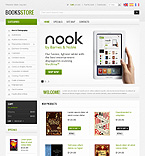 Books PrestaShop Template 38406