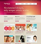 Web design Website  Template 38427