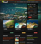 Travel Website  Template 38428